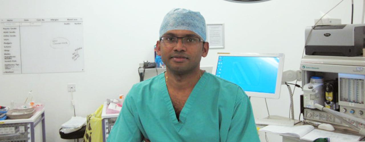 Mr Vijay Sujendran - MBBS, MRCS, MD, FRCS